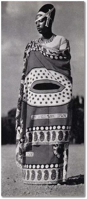 The Queen Rosalie GICANDA, 2nd wife of Mutara RUDAHIGWA
