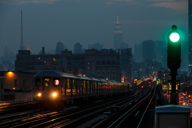 green light for the 7 train