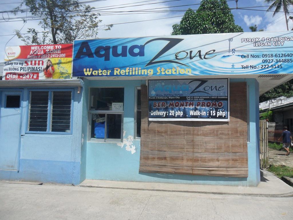 Aqua Zone Water Refilling Station in Purok 4- Dalipuga, Il