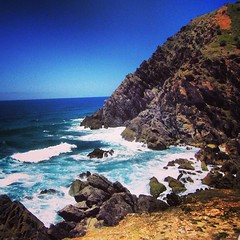 Picture stop while making my way to the lighthouse - Byron Bay #sea #ocean #oz #seeaustralia #exploringaustralia #nature #scenery #australia #byronbay