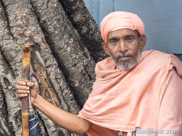 A wise old-- Vieux sage..Gwalior --India