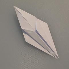 วิธีพับกระดาษเป็นรูปนกกระเรียน 009
