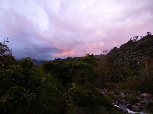 sunset sky naturaleza nature river costarica cielo