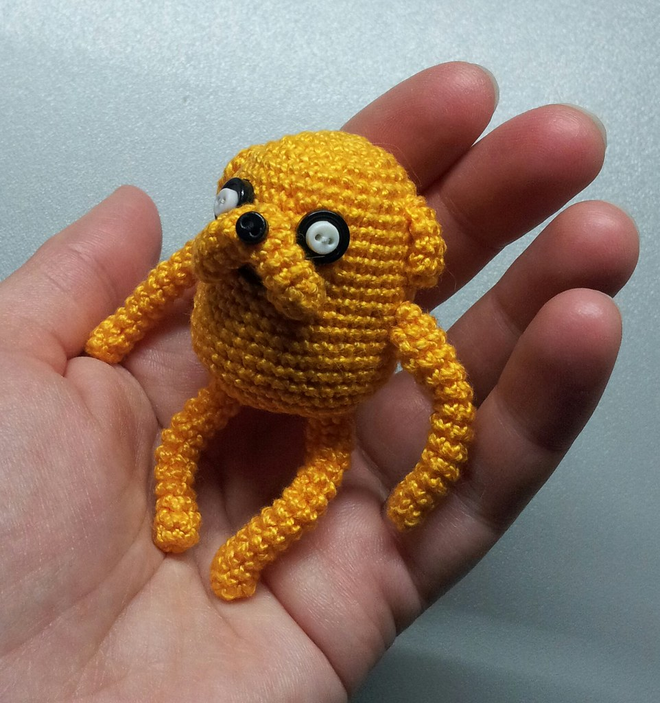 LucyRavenscar - Crochet Creatures: Adventure Time with Finn and Jake | 1024x962