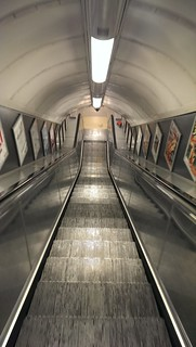 Oxford Circus, 08:27 #EmptyUnderground | by whatleydude