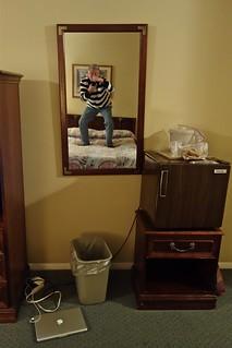 Self-Portrait in Room 222