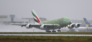 Take-off msn153 F-WWAE 24/1/2014 | by A380_TLS_A350