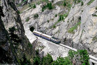 FMGP - E 3 : tren cremallera, 12-08-1984   by Paul van Baarle