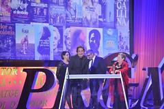 Teresa Enrich, Agustí Villaronga i Susanna Jiménez. Premi Gaudí a la Millor Pel·lícula per a Televisió per