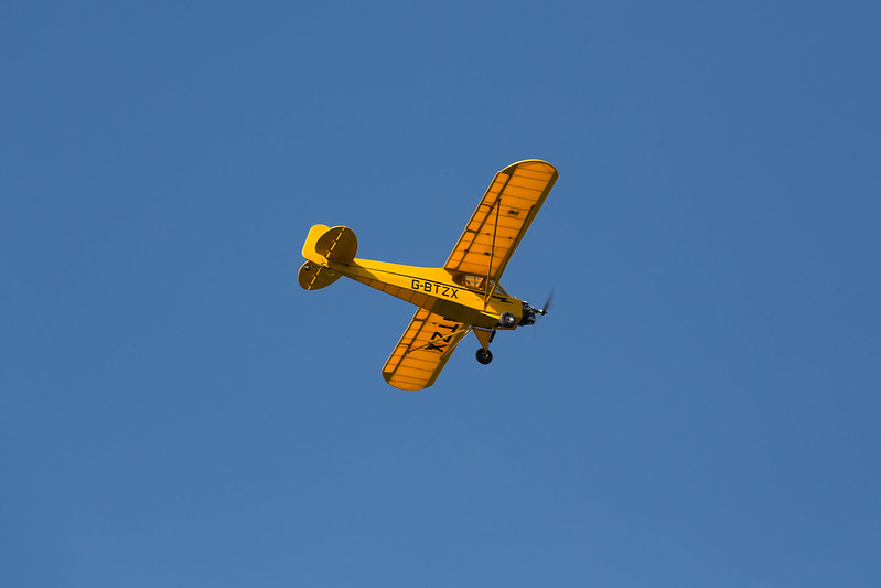 Alan's lovely big Piper Cub.
