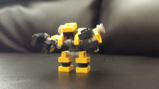 Ace Mini Mobile Frame named A1-PWR aka The Loader for the Lego tabletop strategy game MFZ: IO. | by Ronsem