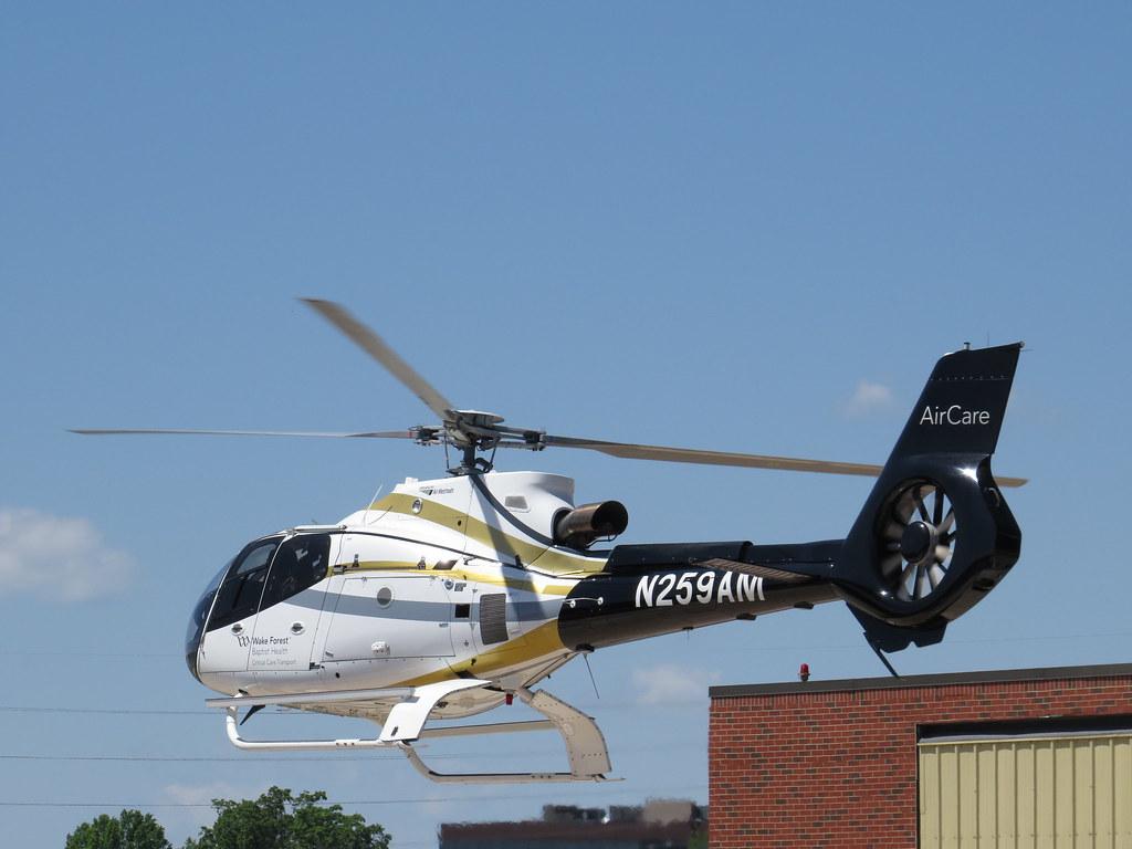 Wake Forest Baptist Health (Air Methods) Eurocopter EC-130