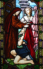 works of mercy: naked and ye clothed me