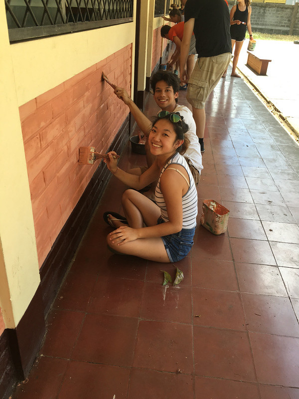 Ching, Anita; Nicaragua - Across the border! paint
