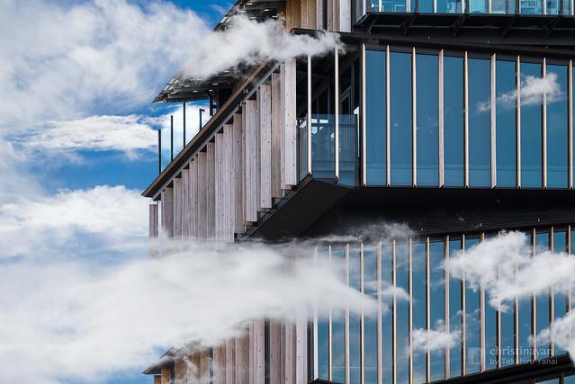 Asakusa Culture Tourism Center as cloudheaven (しゅ~るな浅草文化観光センター)