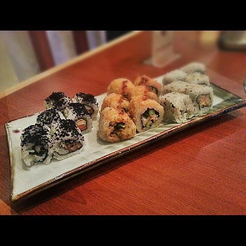 Last night's Sushi splurge: Plate 4 ^^, | by debbietingzon