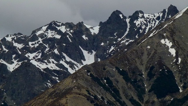 Torlesse Range, Canterbury New Zealand