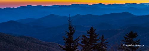 sunset mountains nature us unitedstates outdoor scenic northcarolina canton blueridgeparkway augphotoimagery