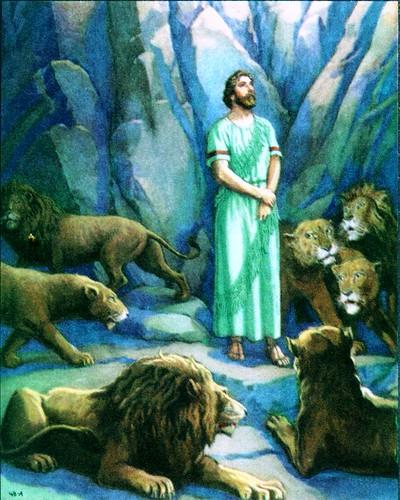 OT2706B.Daniel in the lion's den