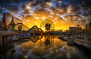 Golden Hour On Paradise Pier | by WJMcIntosh