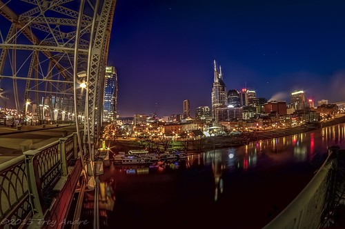 longexposure bridge blue sky water skyline river downtown cityscape nashville pentax tennessee nightlife hdr cumberlandriver downtownnashvilletennessee uploaded:by=flickrmobile flickriosapp:filter=nofilter
