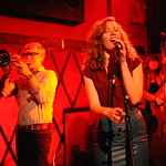 Tue, 18/02/2014 - 8:19pm - Lake Street Dive at Rockwood Music Hall for an audience of WFUV Members. Hosted by Alisa Ali. Photo by Neil Swanson