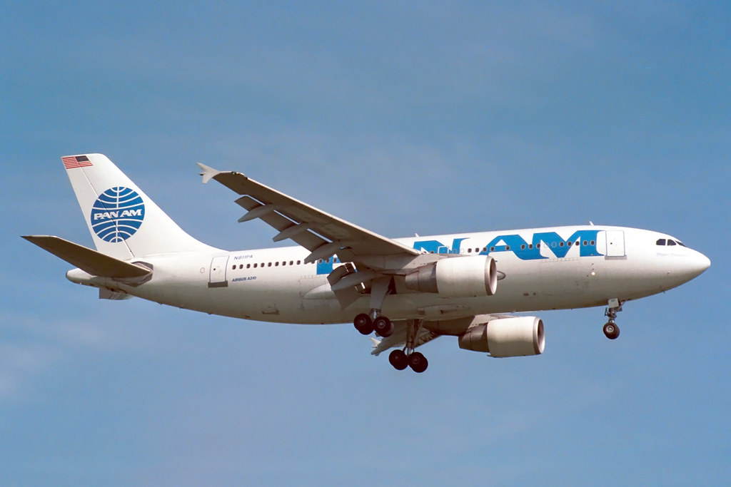 N811PA Airbus A.310-324 Pan Am