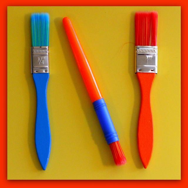 Brush art