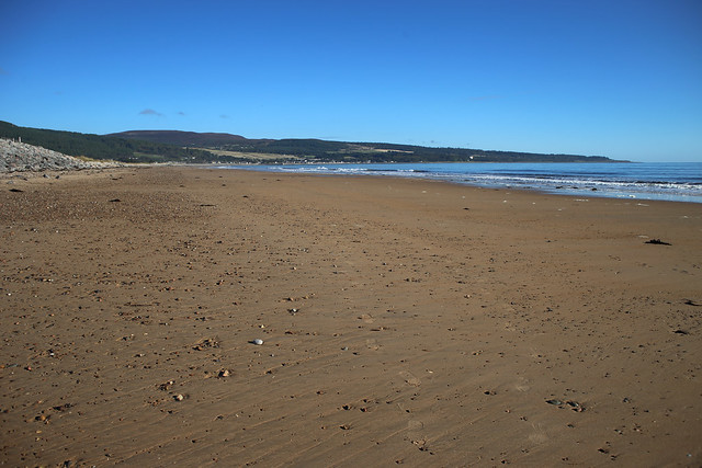 The beach south of Golspie