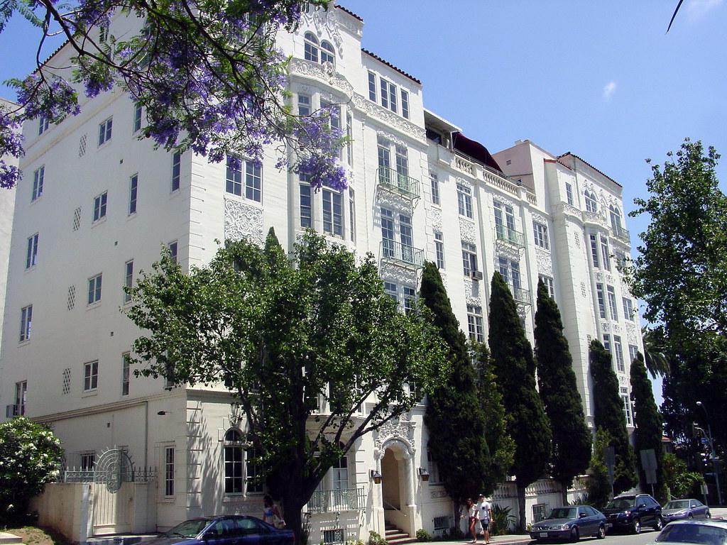 08k El Mirador Apartments 1302 N Sweetzer Ave E Flickr