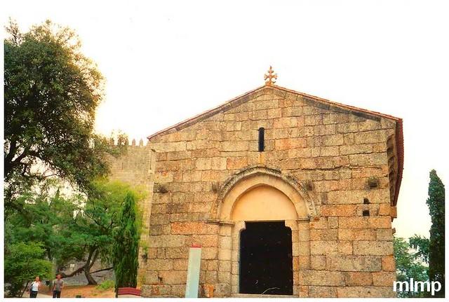 L'église du baptème du premier roi du Portugal