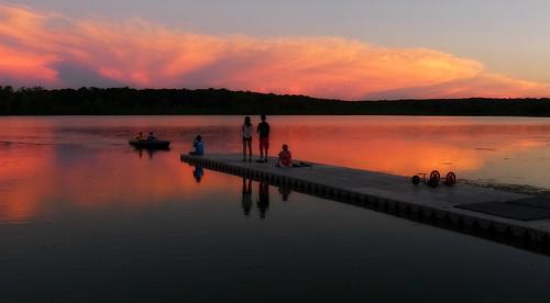 sunset lake pier gear ps madison ricoh wingra cx3