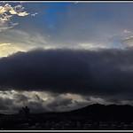 DSC00081ED蘇迪勒颱風來襲前的天色全景1