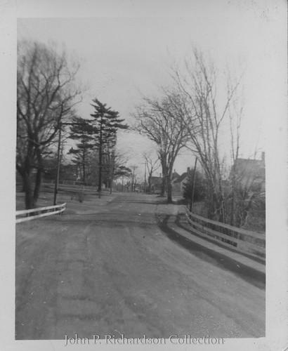 Standing on Leavitt's Bridge