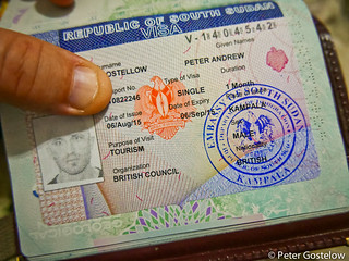 South Sudan Visa | Not an easy one to get  | Peter Gostelow