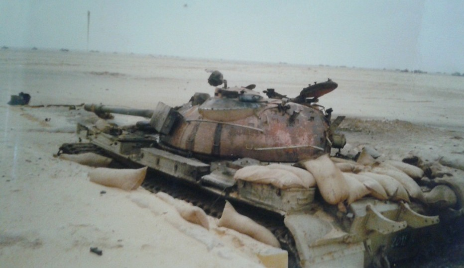 Operation Desert Storm, day 2 of the ground war  Knocked o