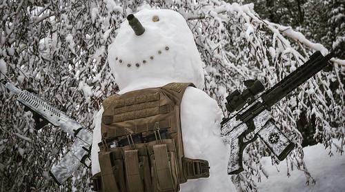 Gunskins Snowman
