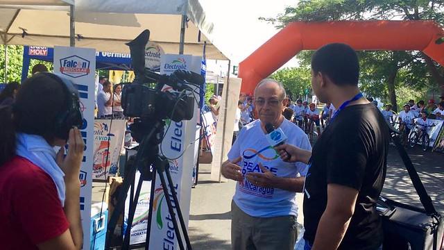 "Nicaragua-2016-11-13-Nicaraguan Cyclists Join ""Peace Road"" Race"
