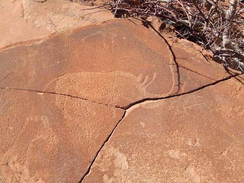Twyfelfontein - rotstekening
