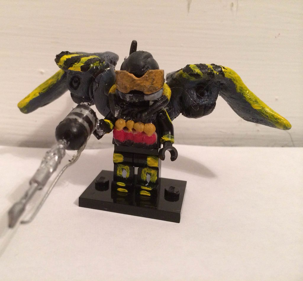 Lego batman arkham origins firefly by yellowdude8