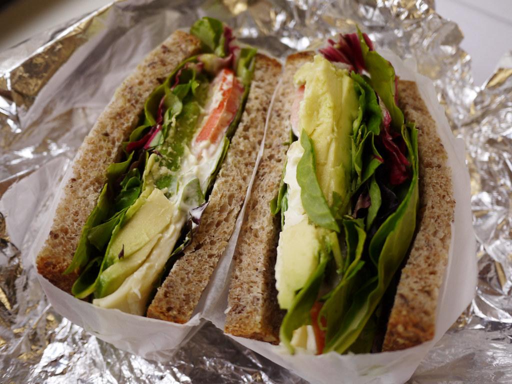 11 21 Blue Dog Kitchen Bar 6 Avocado Sandwich Front