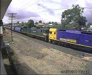 G540-G537 Down PN SG Grain, ex Melbourne by Stawell WebCam
