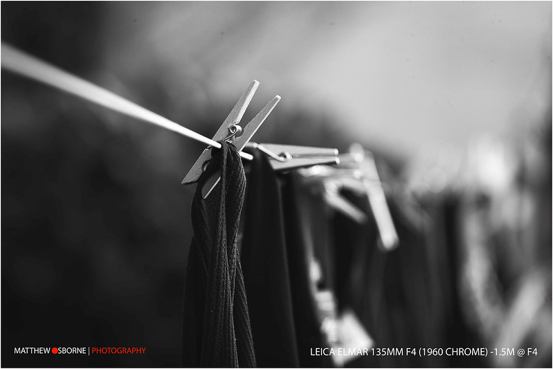 Peg Bokeh Test! Leica Elmar 135mm f4