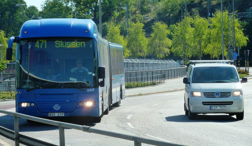 VOLVO B9S Keolis Articulated SL Bus - Stockholm Sweden   Flickr