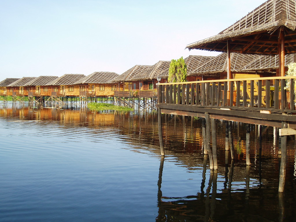 Inle Lake Hotel Golden Island Cottages Ii Was Our