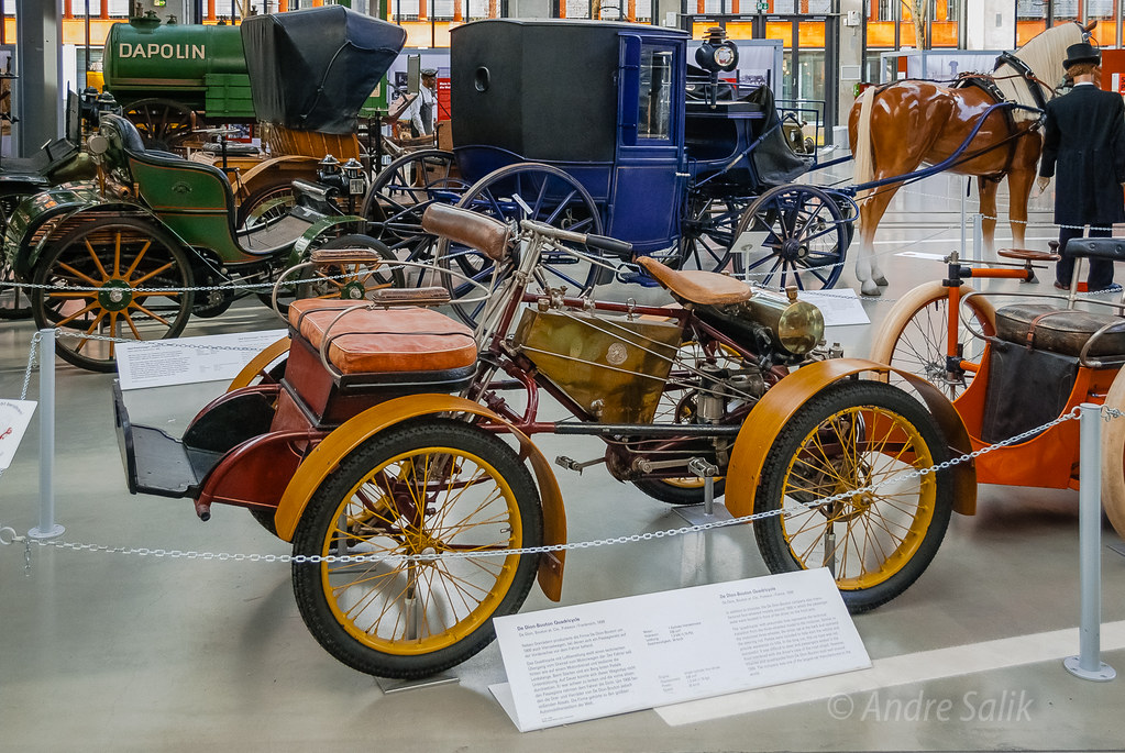 12:59:20 Cool bike!  De Dion Bouton Quadricycle '1898