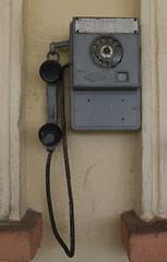 Phone at the Septemvri railway station, 16.09.2015.