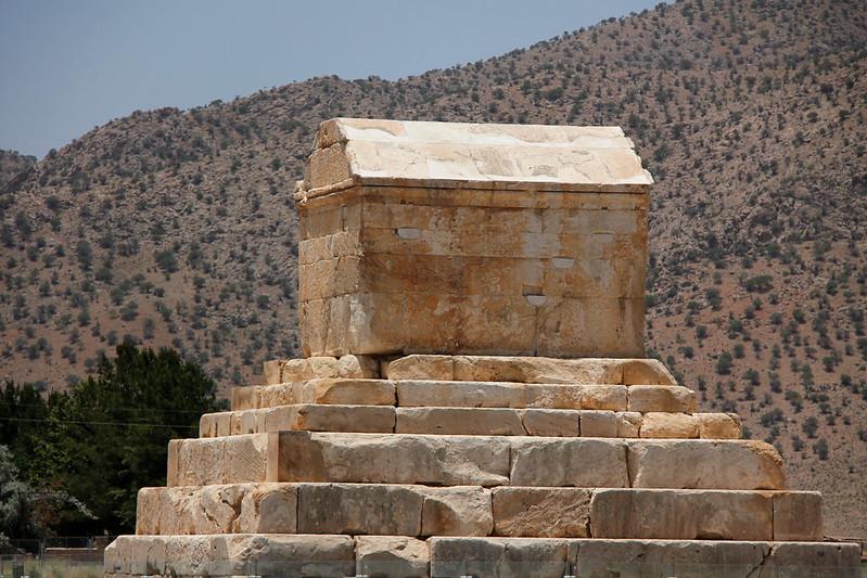 Iran - Pasargadae, Cyrus tomb