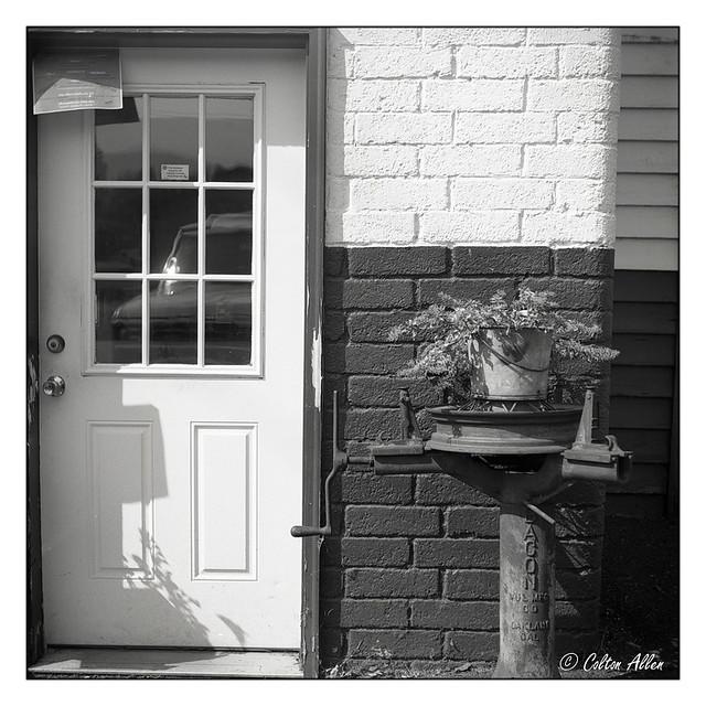 Door at Fleck's