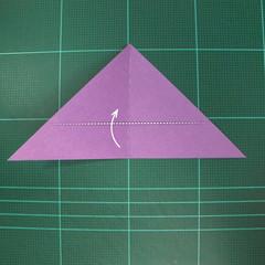 วิธีพับกระดาษเป็นนกพิราบแบบง่าย (Easy Origami Pigeon) 004